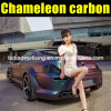 Buon Quality 1.52X30m Car Vinyl Sticker Chameleon Carbon Fiber