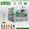 3-in-1 Bottled Drinks Juice Tea Beverage Hot Filling Machine