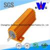 Resistor Wirewound del shell de aluminio de oro del metal con buena calidad