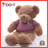 Urso macio enchido Brown da peluche do brinquedo do bebê com pata do bordado