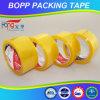 強い付着を用いる金黄色がかったBOPPのカートンのシーリングテープ