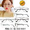 El metal enmarca la aduana Eyewear de la fabricación del marco óptico de las lentes de la manera