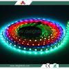 Opgetogen Waterdichte DC5V LEIDENE van Ws2812 Lichte 60 RGB LEIDENE LEDs/M van het Pixel Strook voor Verkoop