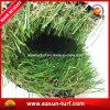 Подгонянная трава ковра лужайки декоративного ландшафта искусственная
