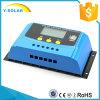 30A 24V/12VのLCD二重USB電池命令CyK30Aを含む太陽系のための太陽料金のコントローラ