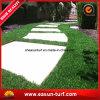 Hierba artificial de la estera del césped del jardín sintetizado del césped