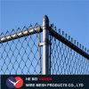 Cerca galvanizada cubierta PVC de la conexión de cadena de la seguridad