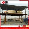 Prensas filtrantes de la placa de la membrana del tratamiento de aguas residuales industriales