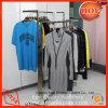 Estante de la ropa del carril de la visualización de la ropa del metal de la tienda al por menor