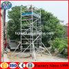 Échafaudage mobile en aluminium d'escalier de poids léger à vendre