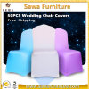 結婚披露宴の宴会のLycraの安いクリスマスのスパンデックスの椅子カバー