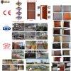 Puerta de madera del PVC de la buena calidad para el sitio