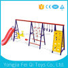 Columpio para la cubierta de la guardería única para niños juegos al aire libre