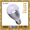 luz de bulbo de 5W LED Withaluminum