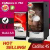 Distribuidor comercial Dobro-Rápido do café instantâneo