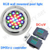 54W DMX Underwater Light, Underwater Pond Light, diodo emissor de luz Light de Underwater