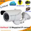 1.0 Megapixel Varifocal Netz-Kamera IP-P2p