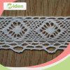 Cordón de moda de teñido respetuoso del medio ambiente del ganchillo del algodón
