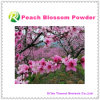 Pó natural da flor do pêssego da alta qualidade 100%