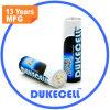 Bateria alcalina elevada do AA Lr6 1.5V da bateria do dreno