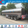3 Axle 42000liters Insulted Milk Tank Semi Trailer