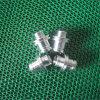 Hoher kostbarer CNC-maschinell bearbeitender Aluminiumstecker