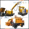 中国の製造者の鉱山のプロジェクトのためのぬれたShotcrete機械40m3/H