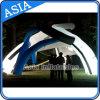 巨大な着火多彩な照明泡テントと結婚する園遊会のイベントのための膨脹可能な展覧会のドーム