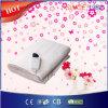 Cobertor elétrico do poliéster confortável com certificado Ce/GS/BSCI
