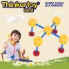 Brinquedos educacionais dos blocos de apartamentos do modelo da tabela de DIY para miúdos