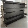Metall Supermarket Shelf für Finnland-Speicher Retail Fixture