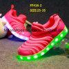 O diodo emissor de luz de piscamento das crianças as mais atrasadas calç as sapatas do esporte (FF416-2)