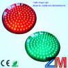 Módulo rojo y verde del semáforo de la base/LED de señal de tráfico del LED que contellea