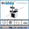 Machine d'inscription de laser de fibre de caisse de téléphone en métal et de plastique
