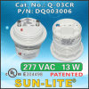 Cfls를 위한 전자 각자 Ballasted Lamp Adapters Used; Q-03cr