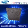 El panel de pared impermeable de interior fino del vídeo del nuevo producto P3 LED Xxx que hace publicidad de la pantalla de visualización de LED