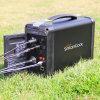 Klein weg von Grid Portable Solar Generator für Outdoor Camping