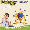 Brinquedo educacional plástico do edifício da venda quente para 3-6 crianças