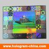Etiquetas engomadas de encargo del holograma de la seguridad del cuadrado del animal doméstico del diseño de la insignia