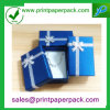 Изготовленный на заказ напечатанная логосом коробка подарка ювелирных изделий картона