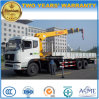 270hp 8x4 Camion lourd Camion 14t monté avec grue