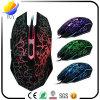 Fissure de câble respirant la souris colorée de lueur de couleur légère