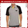 Polyester ordinaire de T-shirts de polo de broderie de chemise de Raglan (ELTMPJ-526)