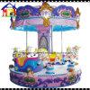 Attraction de stationnement de conduite de Kiddie de cheval de carrousel d'ange de 8 portées