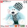 견면 벨벳 장난감 모자에 있는 연약한 장난감 곰