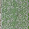 ヤード微光の白い花及び葉デザインRashelの薄く及び柔らかいレース