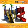 114mm電流を通されたポストの多彩な子供の屋外の運動場装置