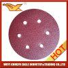 4.5 Hook & Loop discos de lijado sin agujeros Resin Fiber Disc