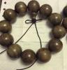 중국 Wumu (까만 나무) 나무로 되는 팔찌 반지