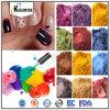 De Ingrediënten van het nagellak, de Kleuren van het Pigment van de Parel